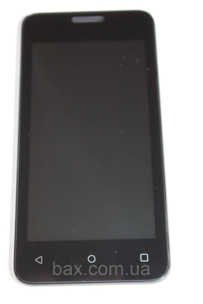 Fly FS407 модуль с рамкой (ориг.) черный