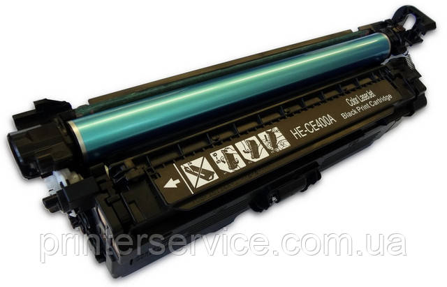 Картридж HP CE400A (507A) black для принтеров HP LaserJet Enterprise 500 Color M551n, M551dn, M551xh