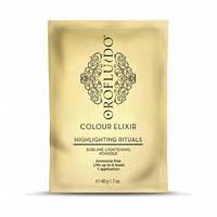 Безаммиачная осветляющая пудра Orofluido Sublime Lightening Powder Revlon 40г х 8шт