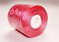 Лента органза красная ширина 0.6 см, длина 45 м, цена 24 грн