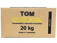 Кокосовый уголь Tom Cococha Gelb 20кг