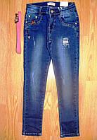 Джинсовые брюки  для девочек оптом, Seagull, 134-164 рр.