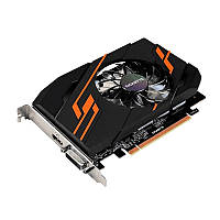 Видеокарта GeForce GT1030 OC, Gigabyte, 2Gb DDR5, 64-bit, DVI/HDMI, 1544/6008MHz (GV-N1030OC-2GI)