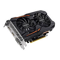Видеокарта Radeon RX 560, Gigabyte, Gaming OC, 2Gb DDR5, 128-bit, DVI/HDMI/DP, 1300/7000MHz (GV-RX560GAMING OC-2GD)