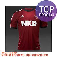 Мужская футболка Adidas FC Nürnberg Home Jersey / Мужская бордовая футболка Адидас ОРИГИНАЛ