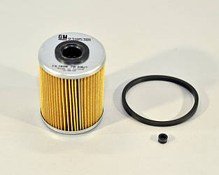 Фільтр паливний *ПОЛЬЩА h=92mm* на Renault Master II 1998->2010, від 1.9 dCi — Opel (Оригінал) - 93185381