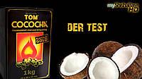 Кокосовый уголь Tom Cococha Gold 1кг (72 кубика)