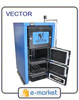 Котел твердотопливный VECTOR 12 кВт ТТК Multi