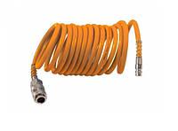Шланг спиральный полиуретановый Grad 5м