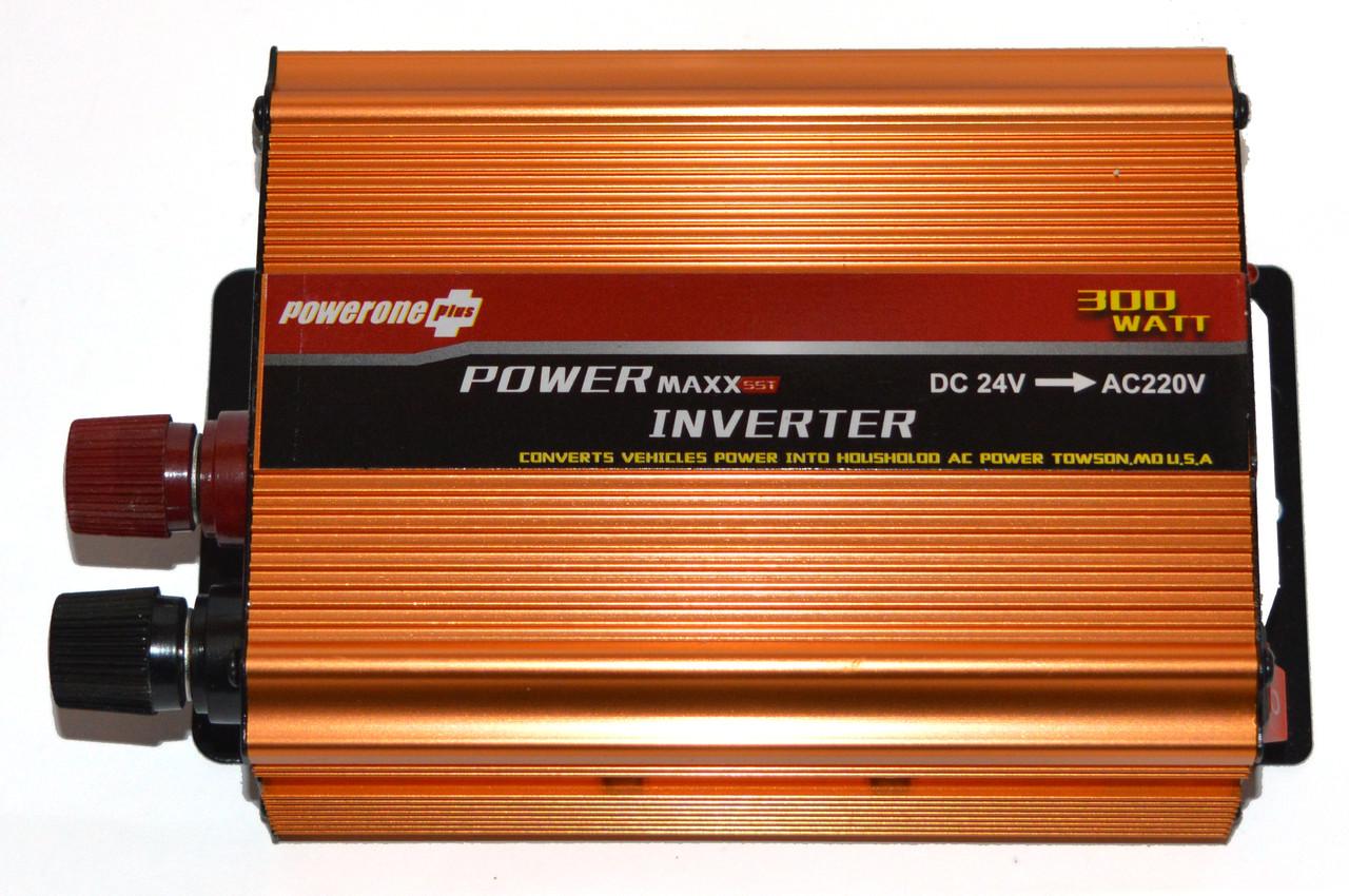 Перетворювач POWERONE 24V-220V 300W