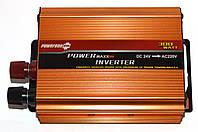 Преобразователь POWERONE 24V-220V 300W только ОПТ!