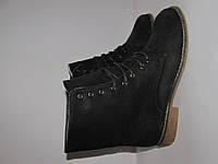 SUPER MODE _отличные ботинки под коже _Германия _39р-25 см Н42