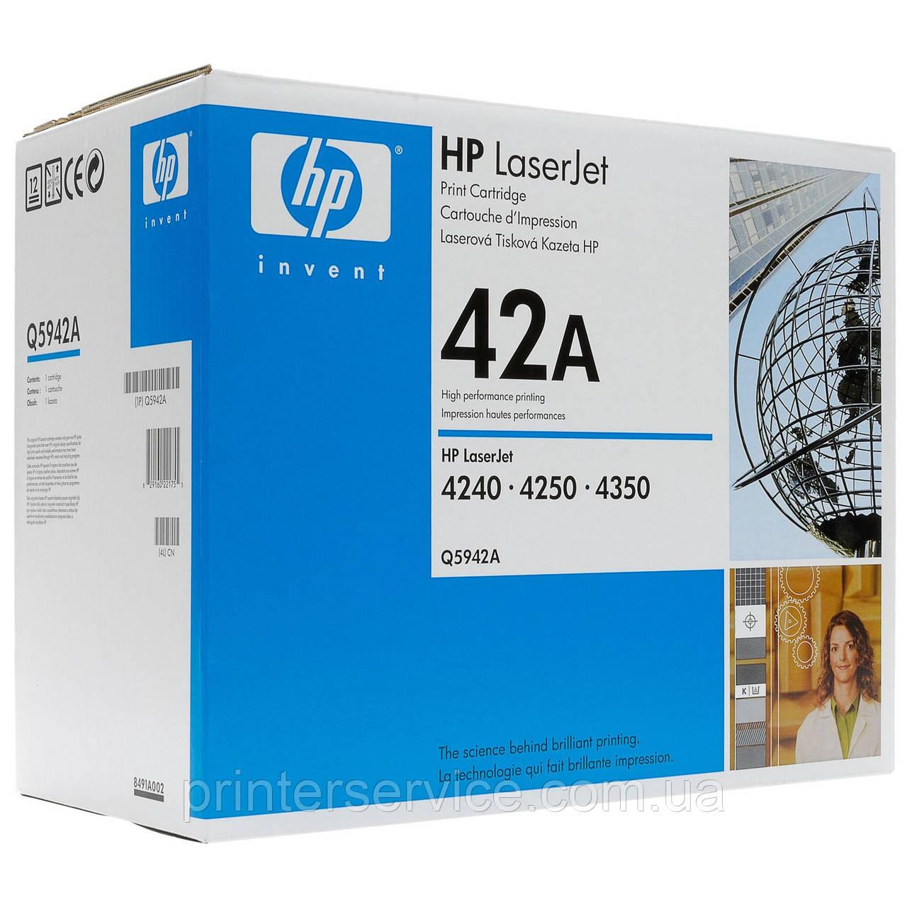 Q5942A (42A) картридж для HP LJ 4250/4240/4350 series
