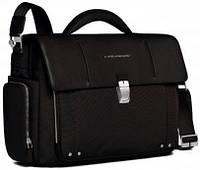 Мужской текстильный портфель Piquadro Link, CA1045LK_N черный