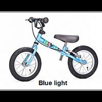 Детский беговел Yedoo TOO TOO B 2+ (blue light), велокат голубой