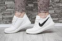 Кроссовки белые текстильные, фото 1