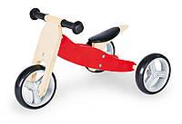 Детский беговел Pinolino red , для самых маленьких - собран