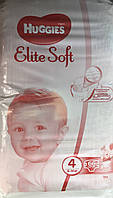 Huggies Elite Soft Хаггис Элит Софт р.4 (8-14кг) 66шт.