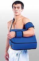 Бандаж для плечевого сустава с отводящей подушкой под углом 45 градусов. Размер UNI. Черный,синий,серый