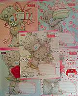 Тетрадь 12 листов косая Me to You Gift-17 680024 6029Пр+ 1 вересня Украина