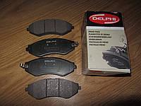 Передние тормозные колодки DELPHI LP1304