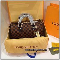 Сумка Louis Vuitton Speedy Damier Eben, Люкс копия
