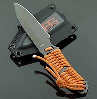 Нож Gerber Bear Grylls BG-1 31-001683, длина 19,7 см, вес 163 гр, прочный шнур 122 см