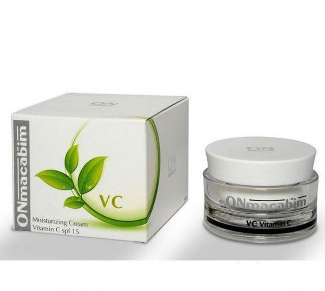Увлажняющий крем с витамином С Onmacabim VC Moisturizing Cream Vitamin C SPF15 50 мл