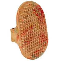 Щетка массажная с шипами на руку (цветная) 9 х 13 см