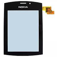 Тачскрин (сенсор) Nokia 303 Asha ORIG, black (черный)