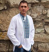 Вышиванка мужская (L-XL) - домоткана тканина