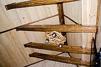 Балки (Фальш балки) деревяні лаковані під старовину