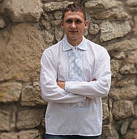 Вишита сорочка (домоткане полотно) - 42 ворот (L-XL)