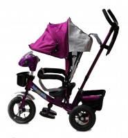 Детский велосипед коляска Baby trike CT-60 фиолетовый