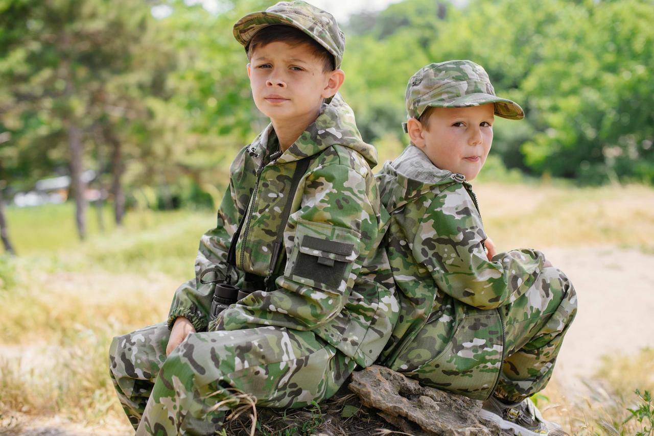 Детский камуфляж костюм для мальчиков Лесоход цвет Мультикам