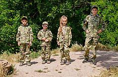 Детский камуфляжный костюм Лесоход для мальчиков камуфляж Мультикам, фото 2