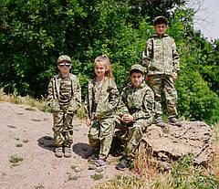 Детский камуфляжный костюм Лесоход для мальчиков камуфляж Мультикам, фото 3