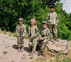 Детский камуфляж костюм для мальчиков Лесоход цвет Мультикам, фото 3