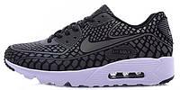 Мужские кроссовки Nike Air Max 90 Light Reflection (в стиле Найк Аир Макс 90) черные