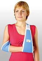 Бандаж для плеча и предплечья. Размер UNI. Голубой, синий, серый
