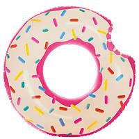 Надувной круг для плавания «Пончик», фото 1