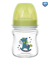Бутылочка с широким отверстием антиколиковая EasyStart-Toys 120 ml.