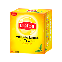 Чай Lipton Yellow Label Tea (100 пак.)