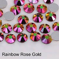 Стрази Rainbow Rose Gold SS20 (5,0 мм) холодної фіксації. Ціна за 144 шт