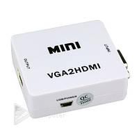 Конвертер VGA to HDMI  mini