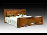 "Ліжко різьблене з натурального дуба "" Елегант"""