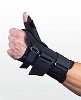 Ортез для фиксации лучезапястного сустава и большого пальца. Размер UNI. Черный