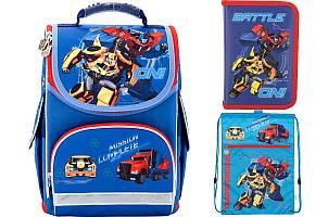 Набор школьный Kite(Рюкзак+сумка+пенал) Transformers TF17-500S