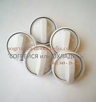 """Набор ручек для плиты """"НОРД"""" (""""NORD"""") (белые)старого образца (5 штук) код товара: 7021"""