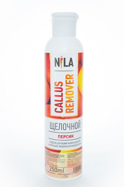 Средство для педикюра Callus remover Nila - щелочной, 250 мл